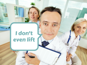 Does YOUR doctor even lift?