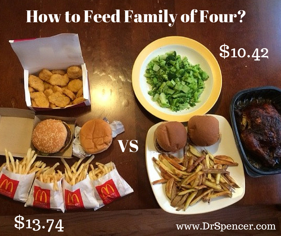 Family of Four Meal