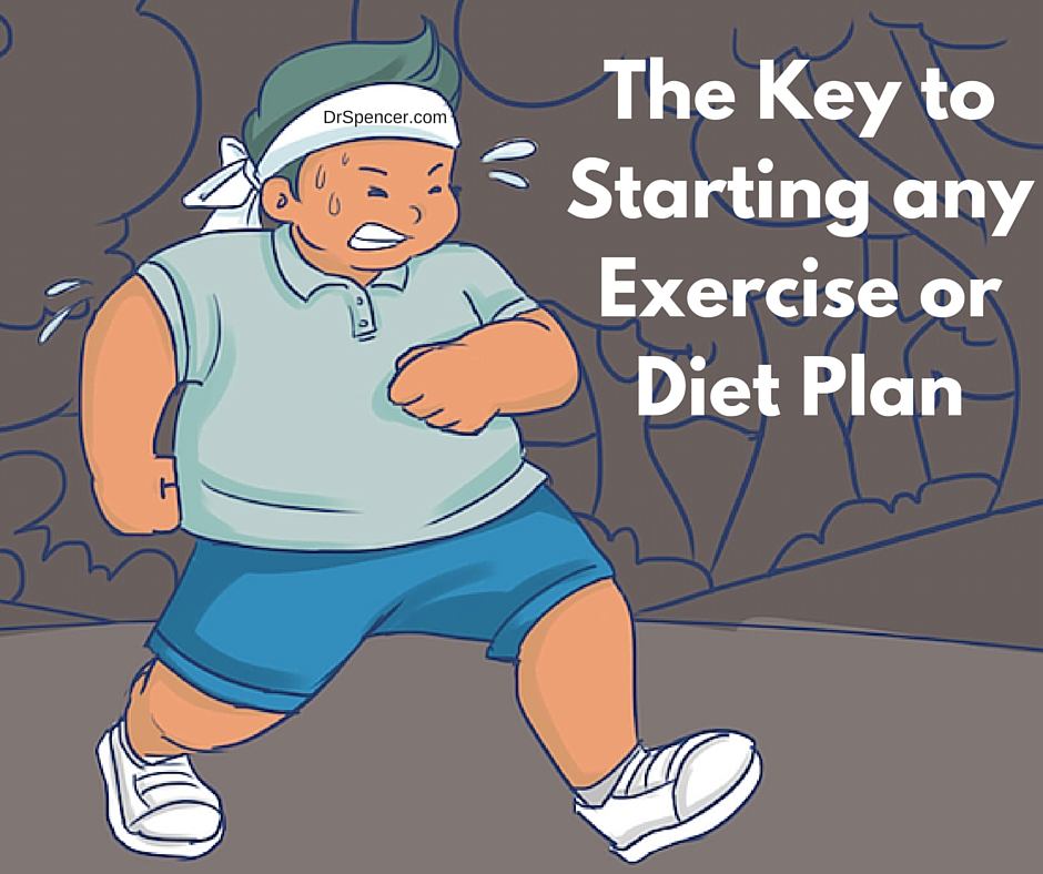 The Key to Starting any Exercise or Diet Plan (1)