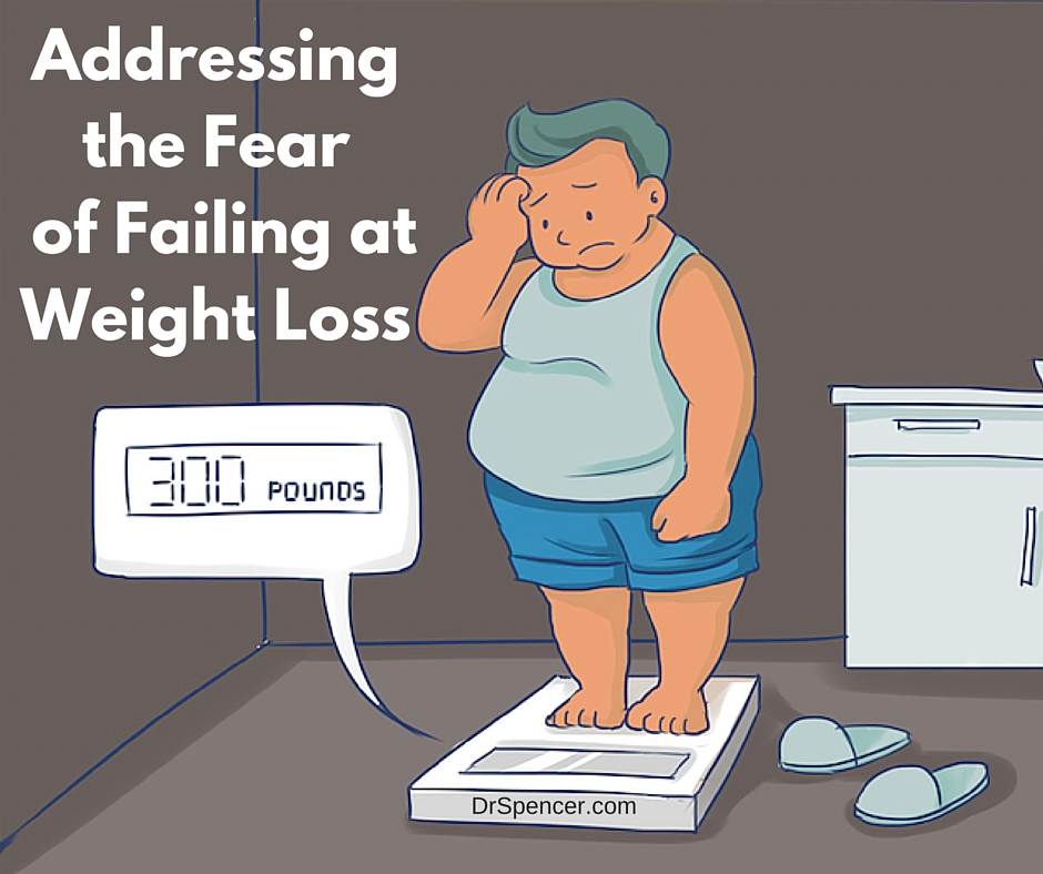 Addressing the fear of failing at weight loss
